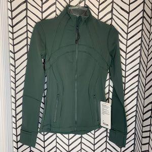 🔸 Lululemon define jacket dark forest 4 green NWT